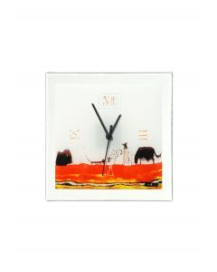 Graficity doggy wall clock 26x26 cm