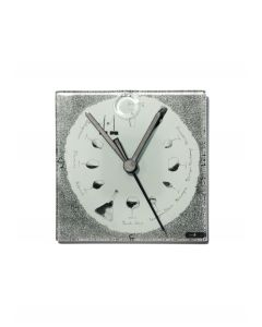 Graficity wine wall clock 13x13 cm
