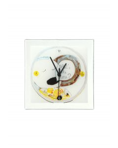Graficity time wall clock 26x26 cm