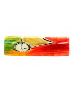 Geometry red-green plate 9x30