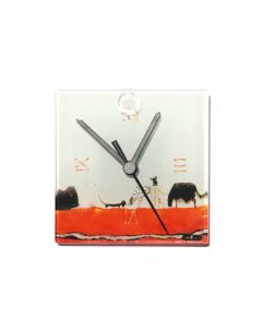 Graficity doggy wall clock 13x13 cm