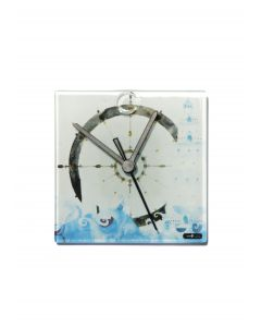 Graficity sailer wall clock 13x13 cm