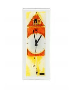 Graficity cuckoo wall clock 14x37 cm